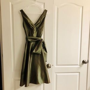 BCBG size 4 shimmery cocktail dress